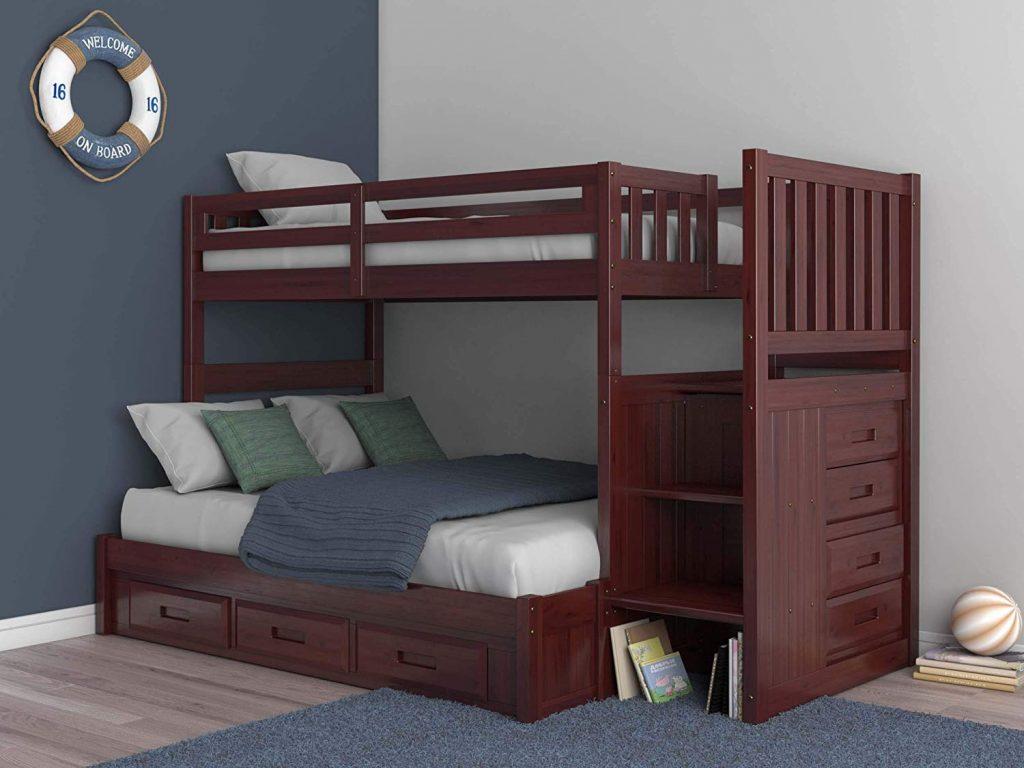 merlot twin bed