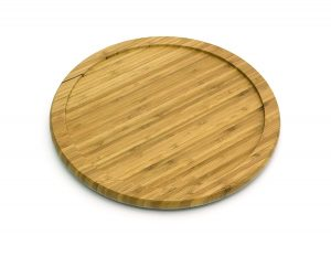 10 Inch Bamboo Lazy Susan Turntable