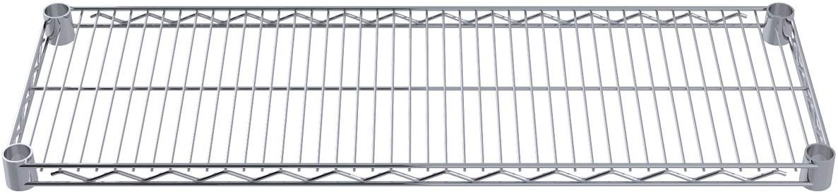 12-Inch X 36-Inch Chrome Wire Shelves
