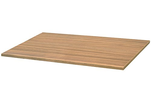 24 Inch x 12 Inch Melamine Wood Shelving - Honey Maple