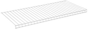 10 Inch x 12 Inch White Wire Shelving
