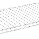 10 Inch x 12 Inch Wire Shelving - Nickel