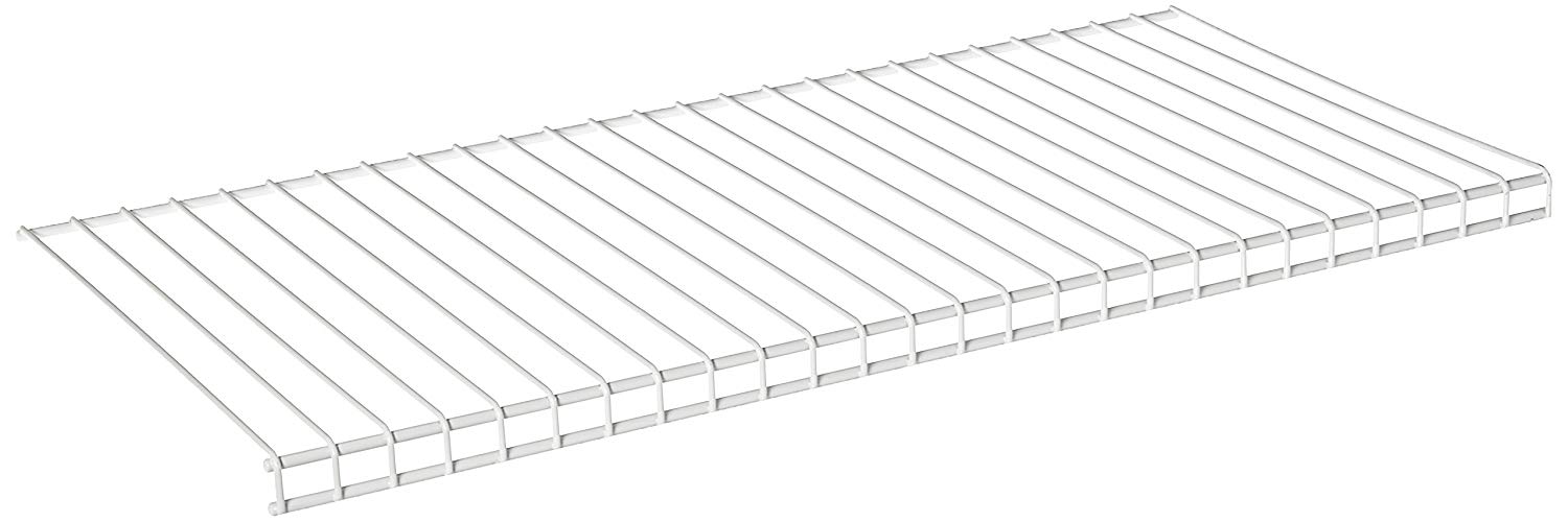 10 Inch x 12 Inch Wire Shelving - Nickel