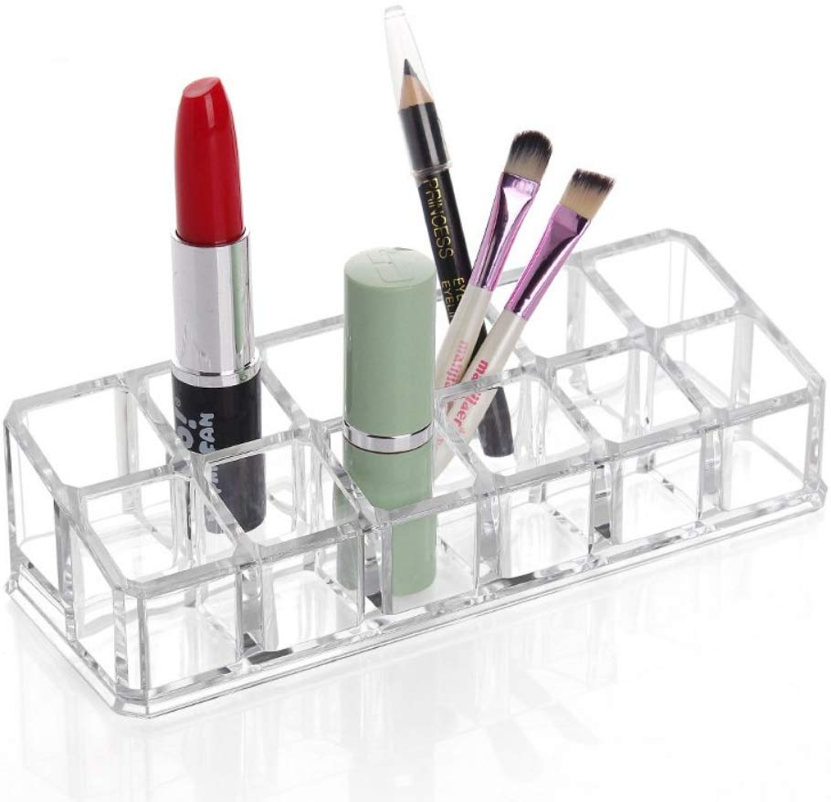 12-Compartment Lipstick Organizer