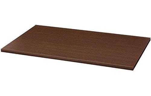 14 Espresso Melamine Wood Shelving