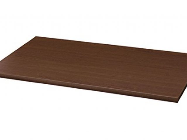 Melamine Shelf 14 x 36 Inches in Maple Count of 4