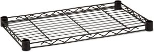 24'' Black Wire Shelves