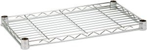 24 Inch Chrome Wire Shelves