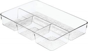 4-Compartment Drawer Organizer