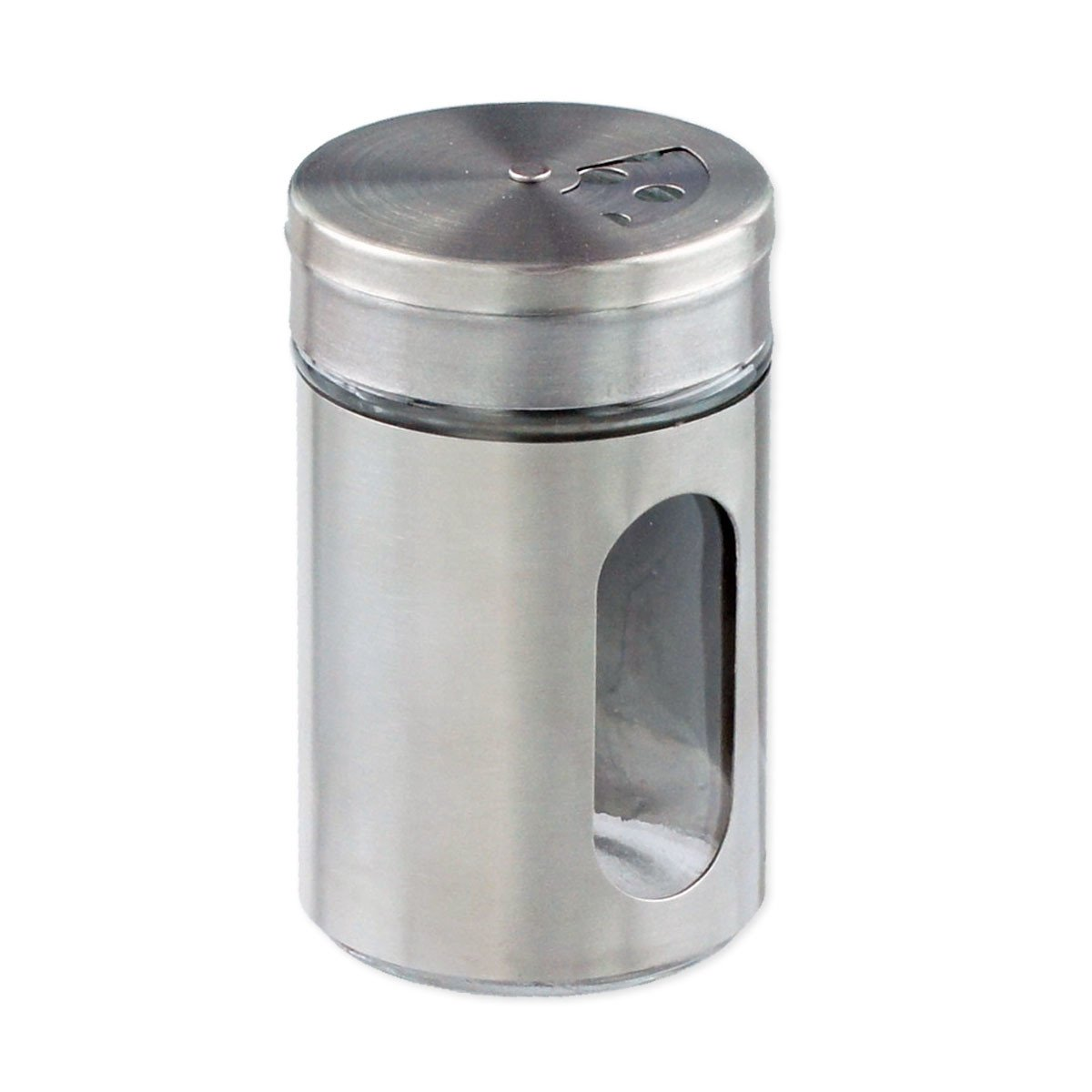 Chrome Spice Shakers by RSVP