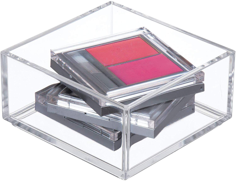4 Inch x 4 Inch Clear Acrylic Drawer Organizer