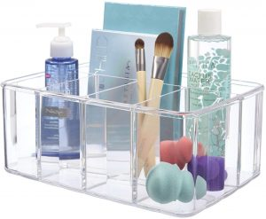5-Compartment Stackable Vanity Organizer