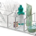 7-Compartment Acrylic Bathroom Tray