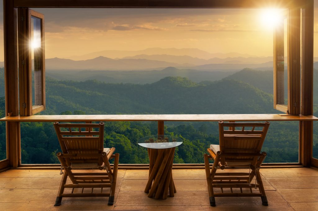 balcony for natural light