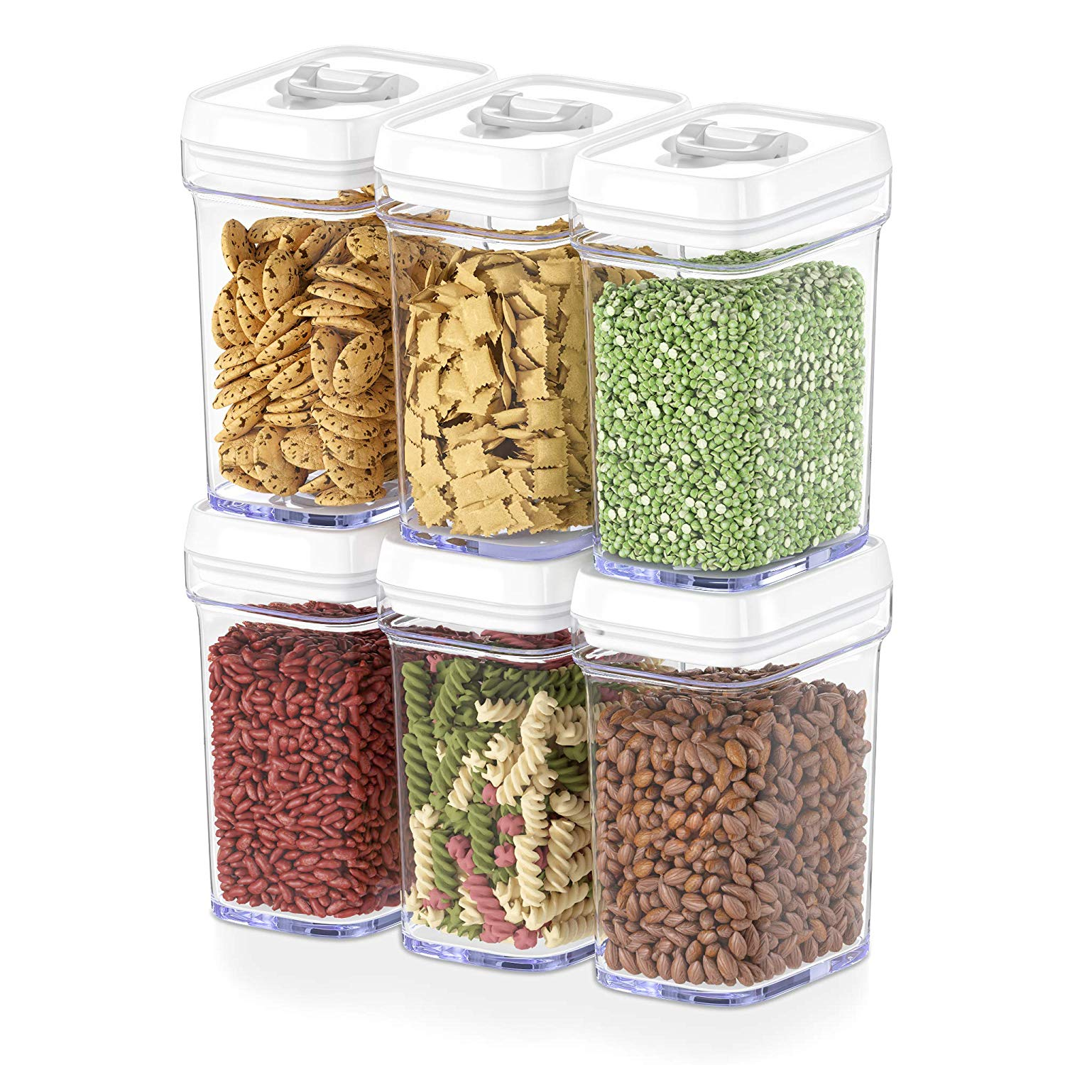 184 oz Modular Snapware Container w Flip Top Lid Storables