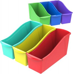 Assorted Connecting Book Bin Set of 6