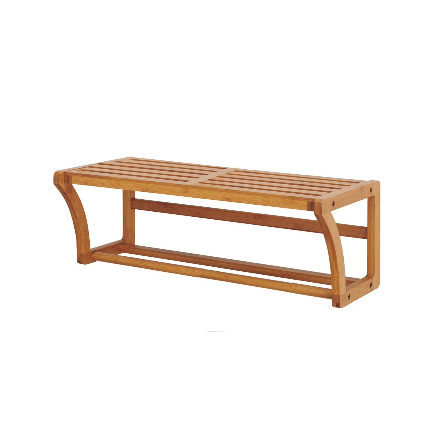 Bamboo Rectangular Cabinet Shelf