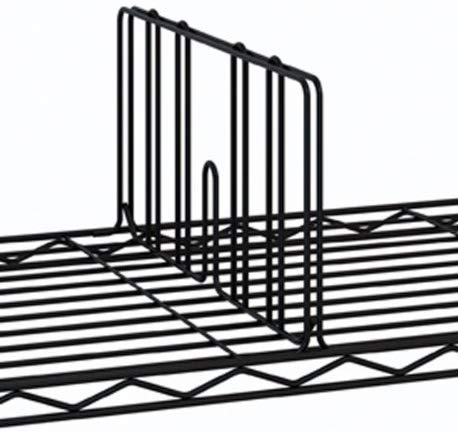 14 Black IP Shelf Divider