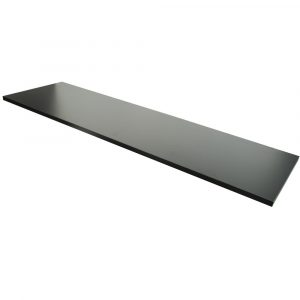 Black Melamine Shelf Overlays