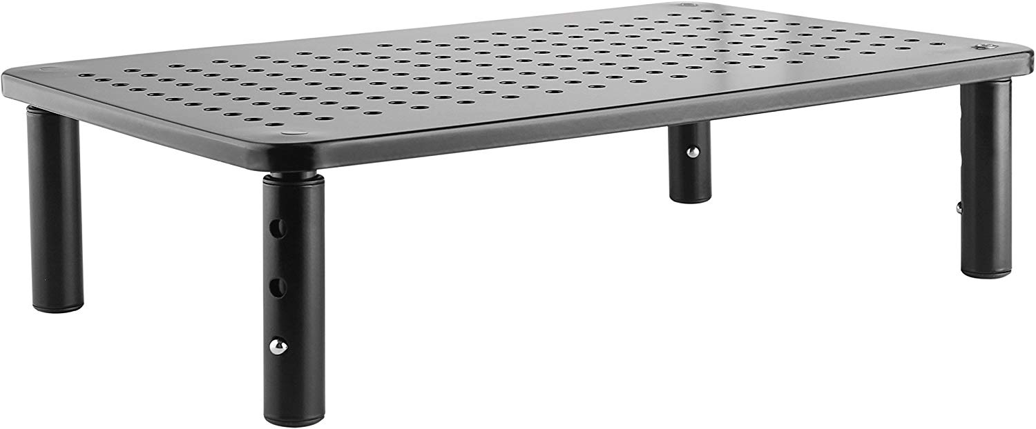 14.5 x 9.3 x 4 inches Black Monitor Stand