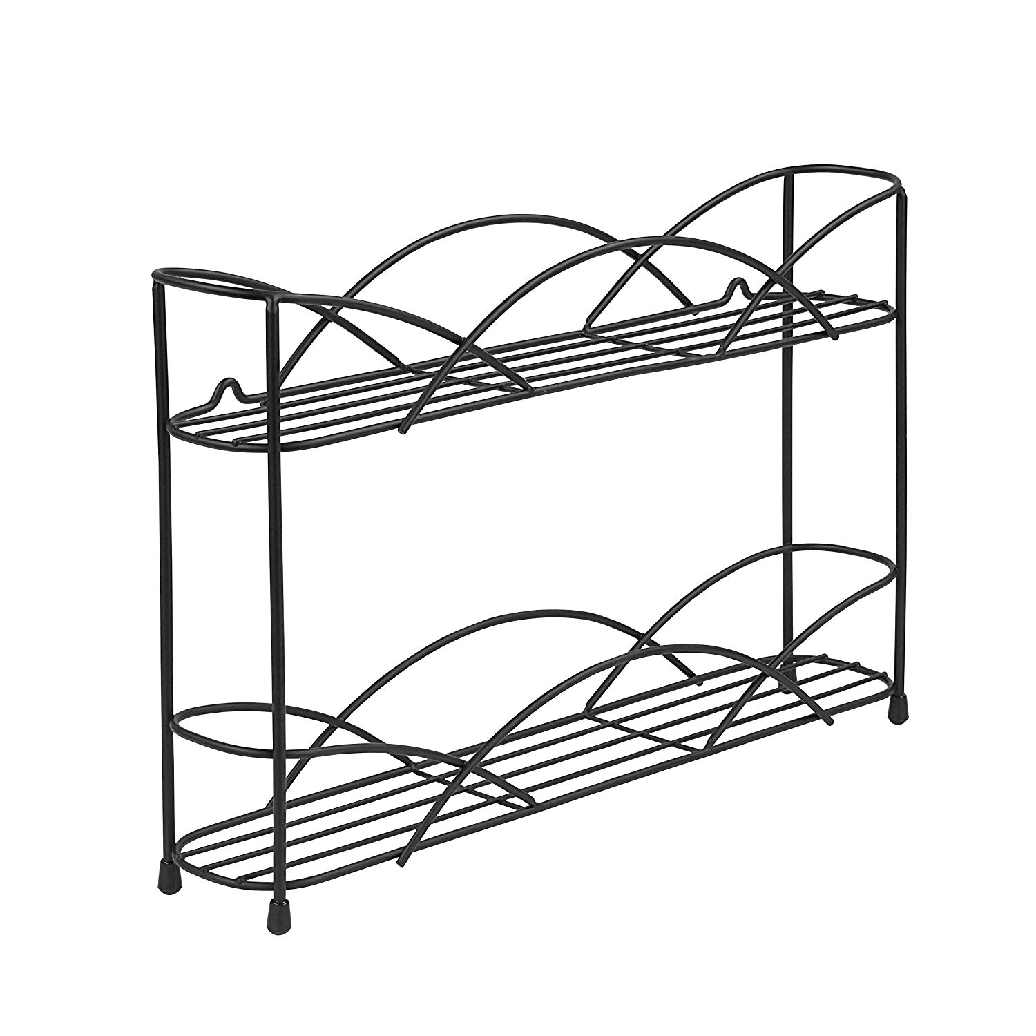 Black Spice Rack 2-Tier