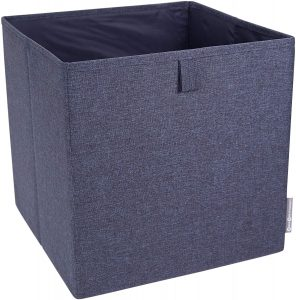 Blue 12 Inch x 12 Inch Soft Storage Cube