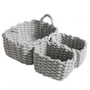 Gray Eli Basket