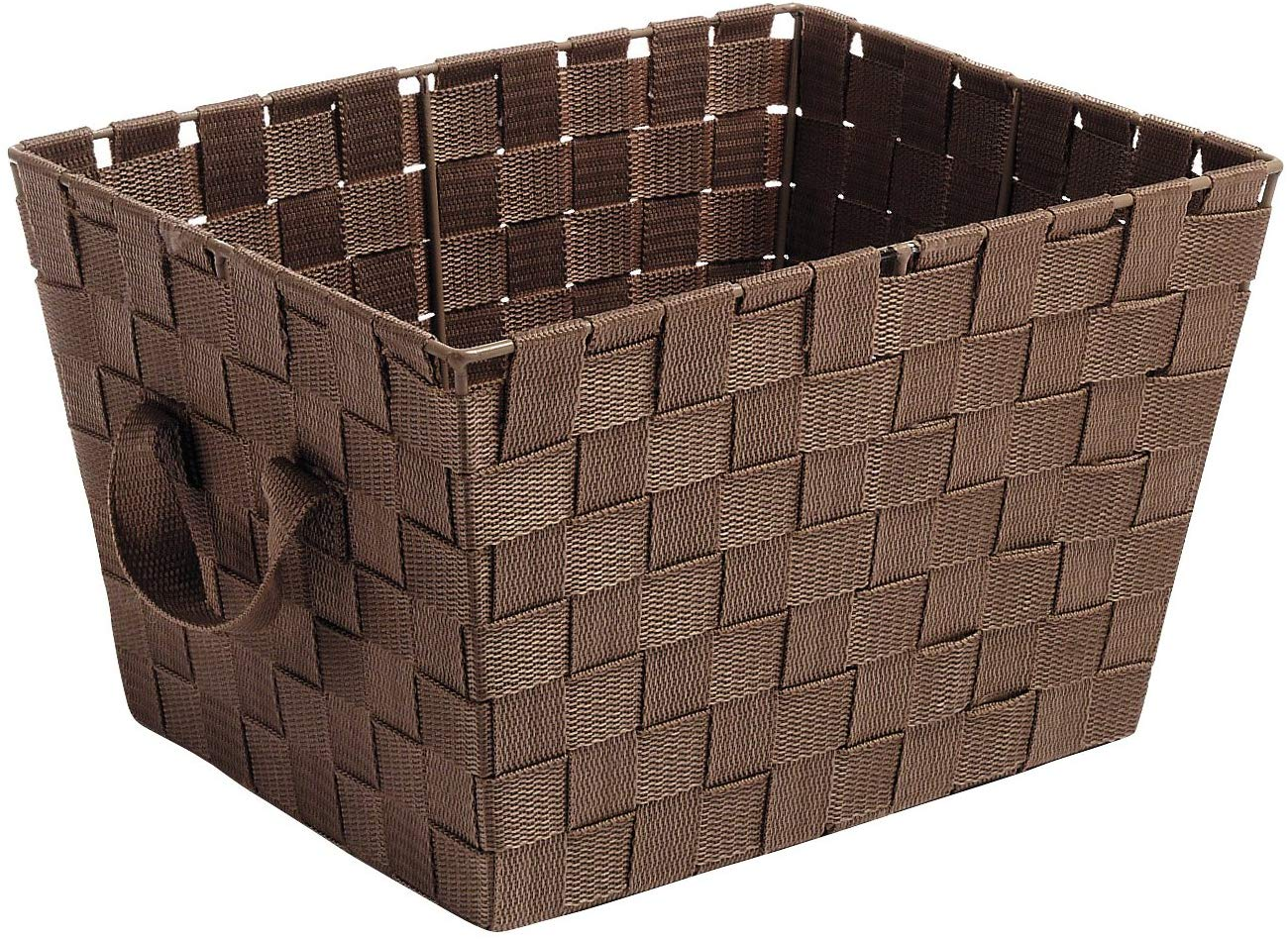 Brown & Natural Lassen Rectangular Crate