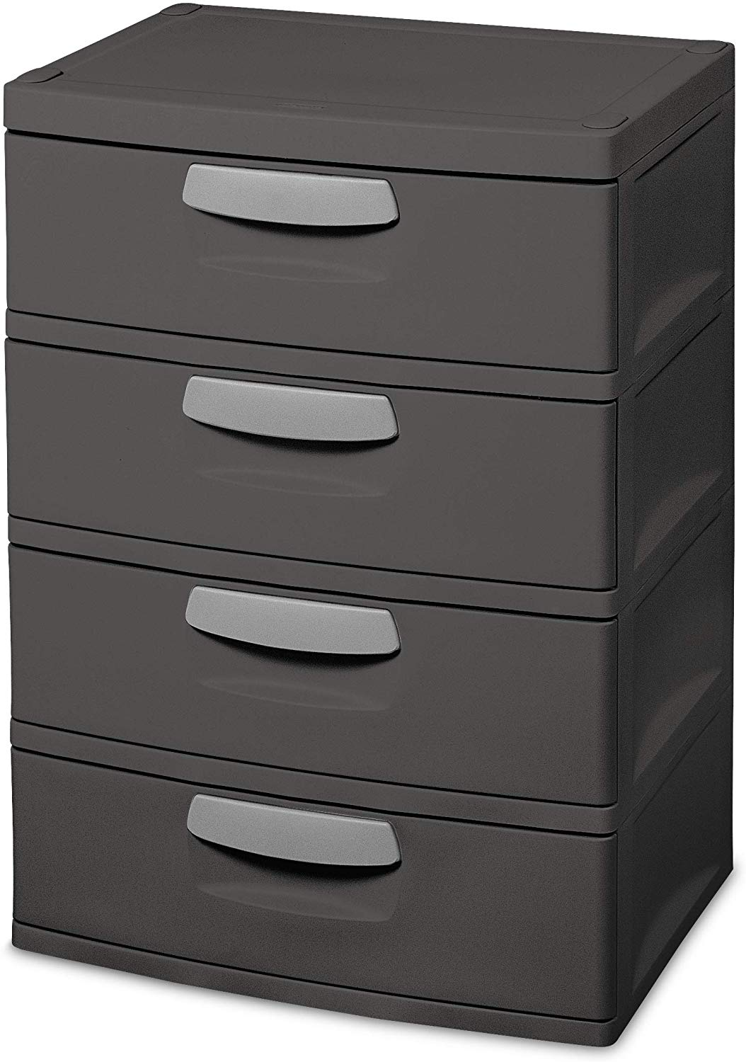 Large 4-Drawer Translucent Chest