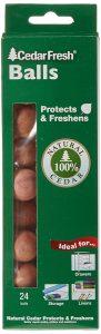 Cedar Mothballs - Set of 24