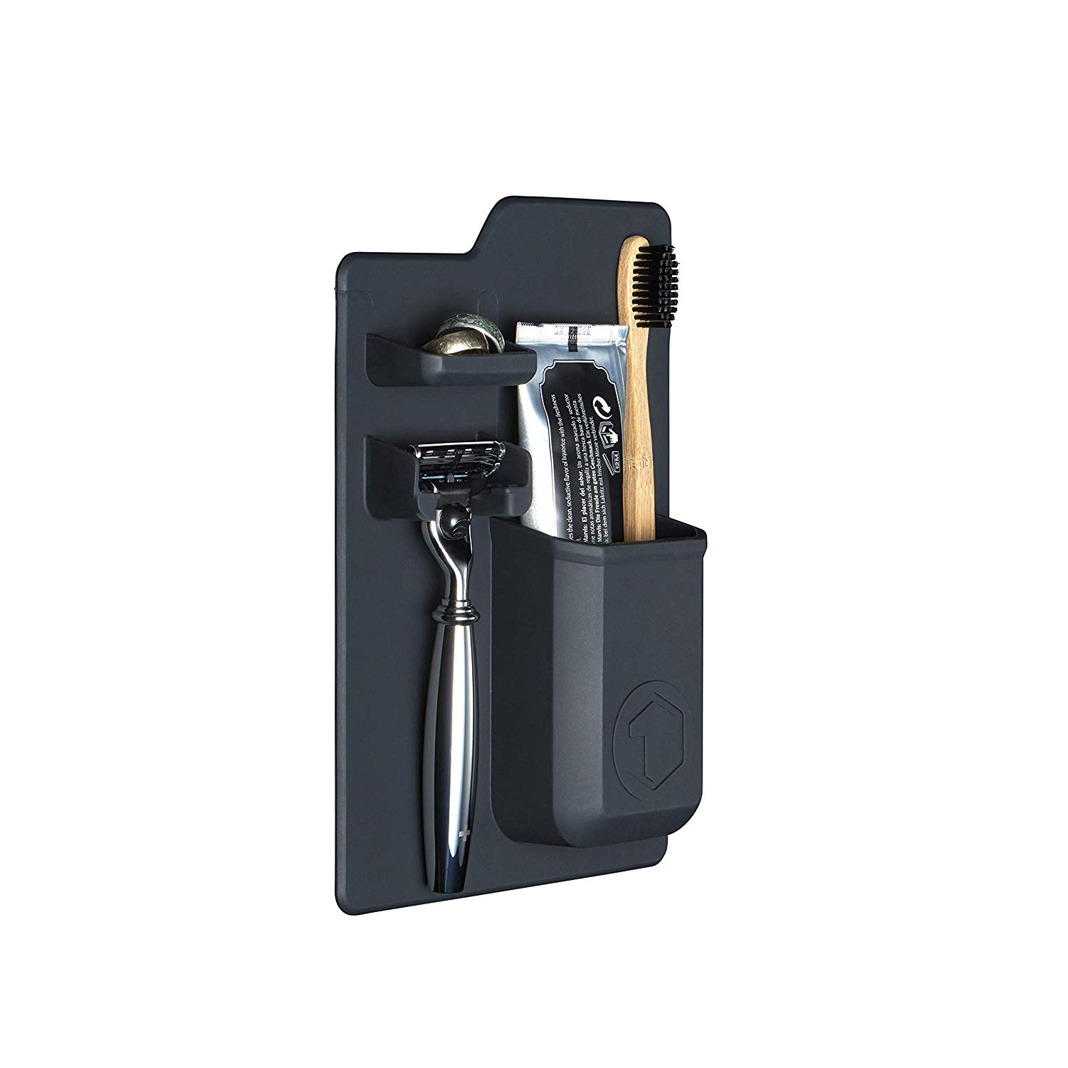Charcoal Silicone Mighty Toiletry Station