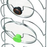 Chrome Classico Wall Mount Lid Organizer