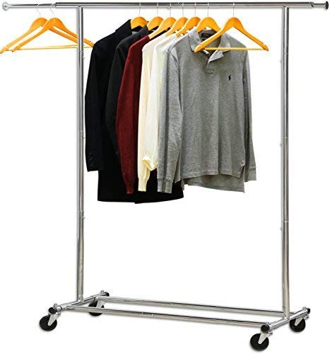 Chrome Folding Clothes Rack