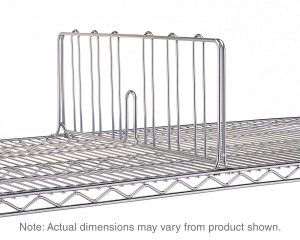 Chrome IP Shelf Dividers