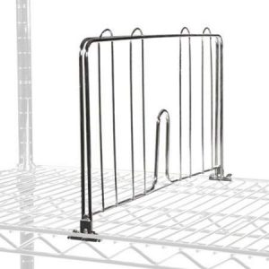 Chrome IP Shelf Fences & Dividers