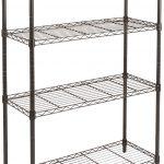 Chrome Wire 14 Inch Deep 4-Shelf Units
