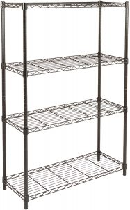 Chrome Wire 14 Inch Deep 4-Shelf Units