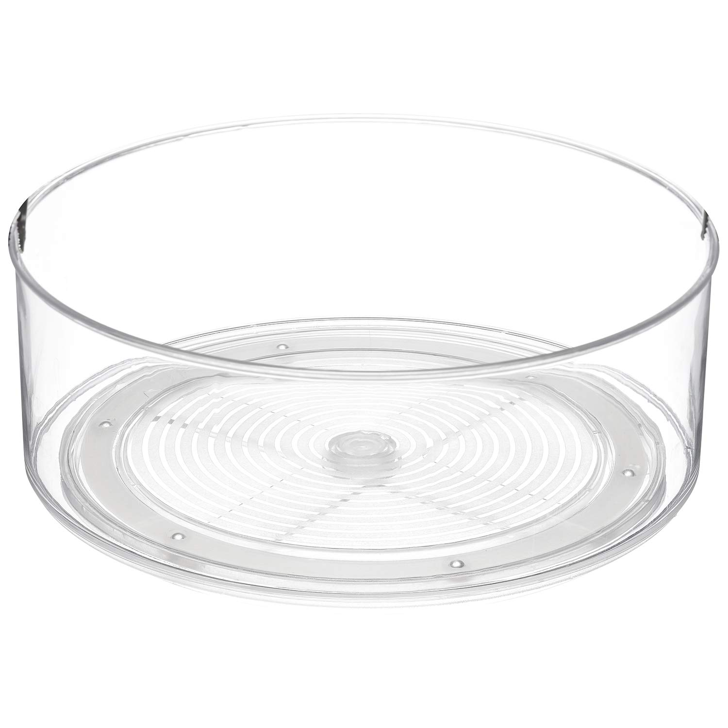 Clear 9 Inch Turntable Bin