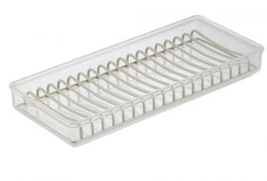 Clear & Satin Clarity Sink Tray