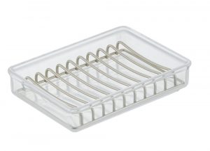 Clear & Satin Clarity Soap Dish