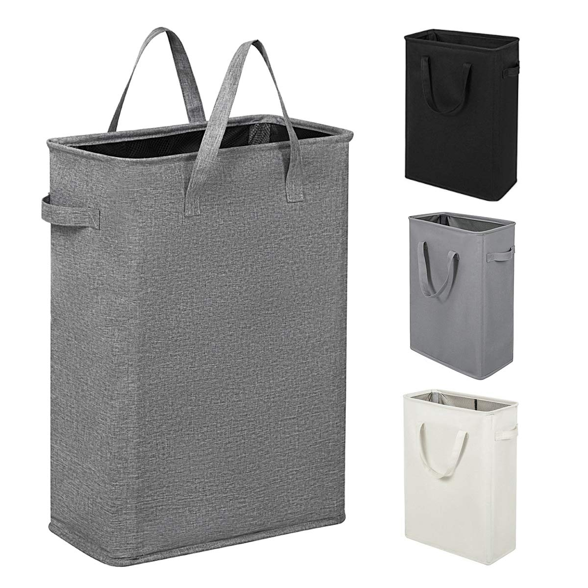 Dark Grey Eleanor Felt Hamper