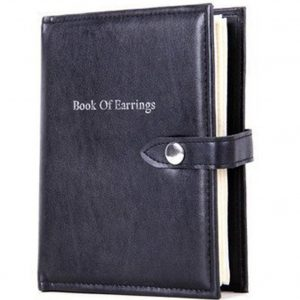 Earring Book Organizer