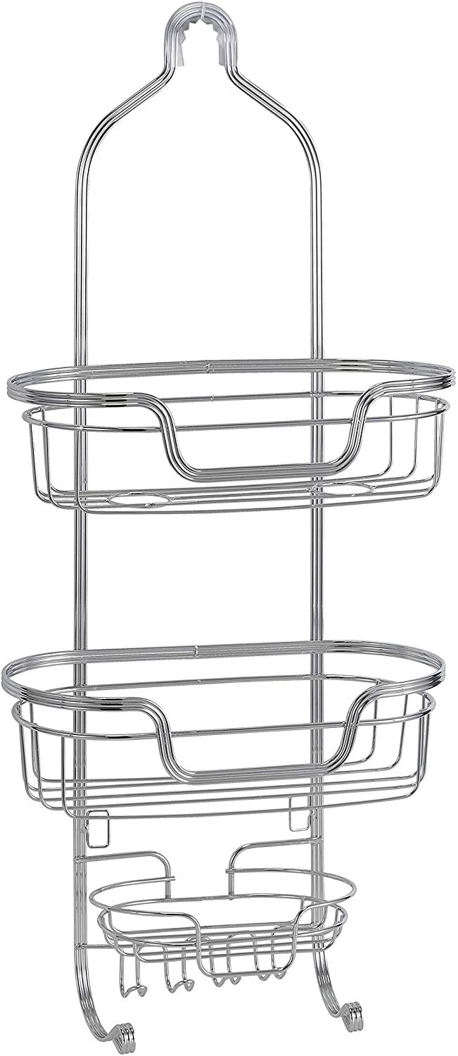 Euro Chrome Shower Caddy