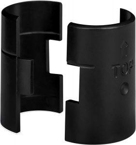 Extra Shelving Sleeves for Epoxy Black IP Shelves