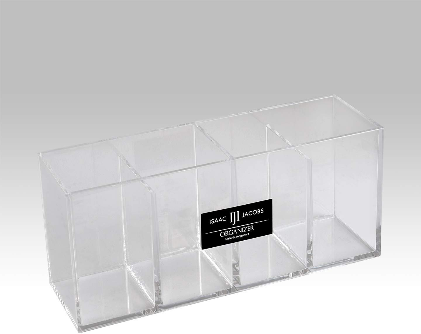 Four Compartment Acrylic Cosmetic Organizer