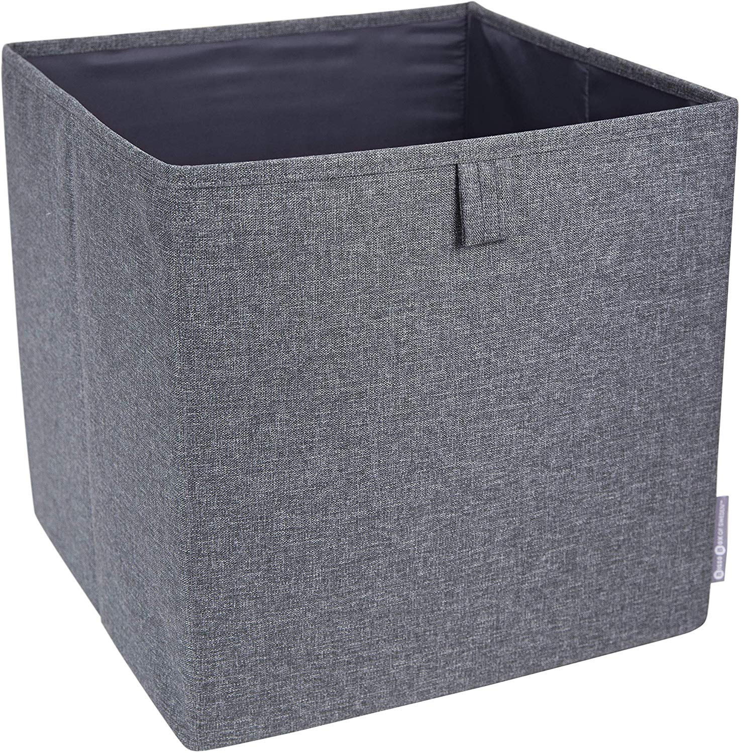 Gray 12.4 Inch x 12.4 Inch Soft Storage Cube