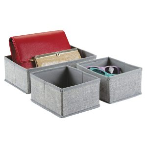 Gray Aldo Drawer Organizers 3S - Set of 3