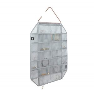 Gray Facetta Jewelry Organizer