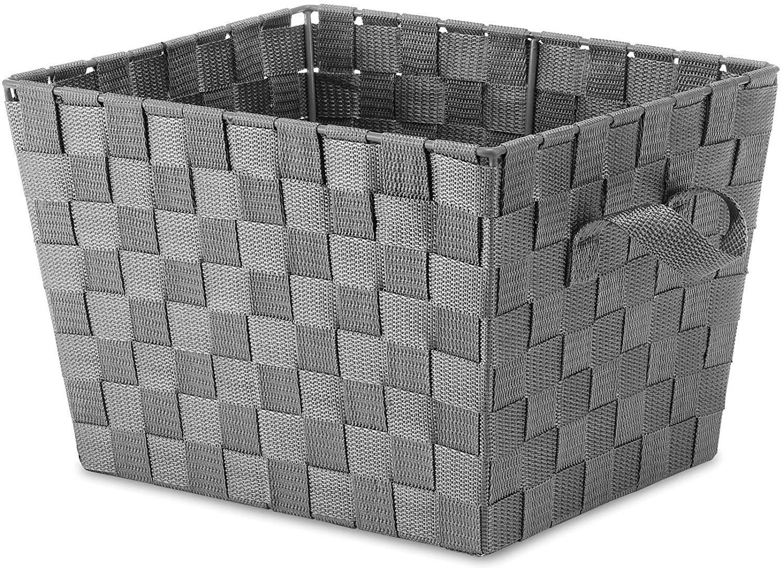 Gray Lassen Rectangular Crate