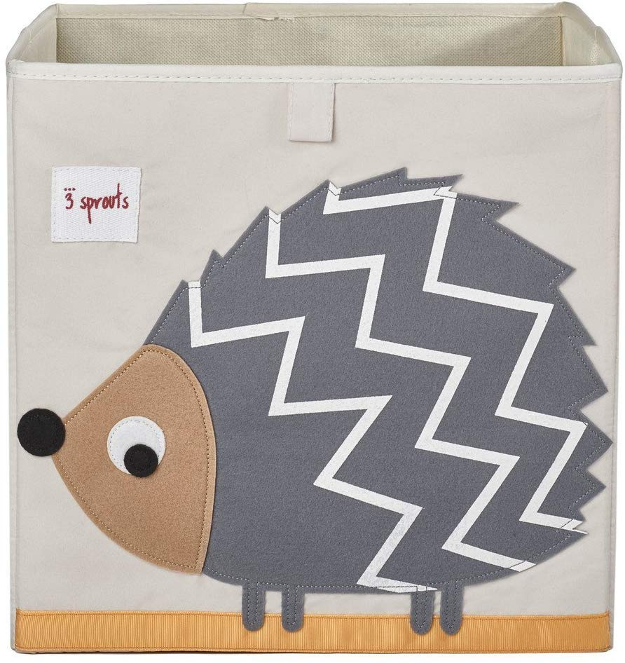 Hedgehog 13 Inch x 13 Inch Folding Crate